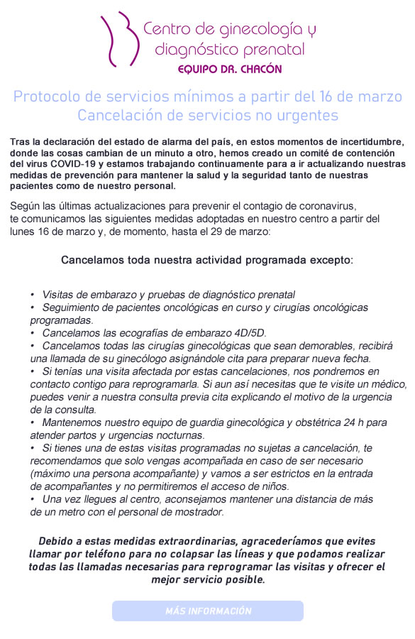 procedimientos de diagnóstico prenatal de diabetes